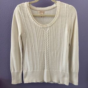 DKNY JEANS Women's Cable Knit Sweater